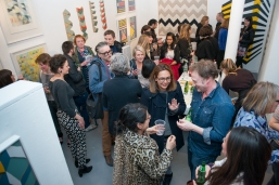 Private View crowd
