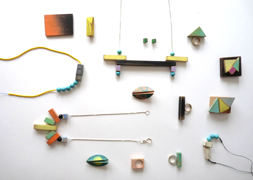Bridget Harvey Geometric Jewels