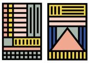 Contact #TheGeometrics Camille Walala via http://camillewalala.com