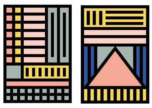 Camille Walala Geometric Prints