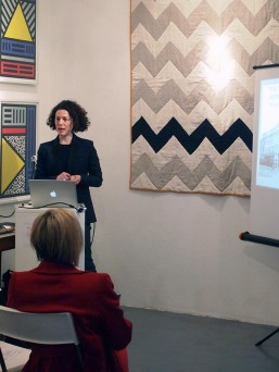 Alexandra Gerstein from The Courtauld presents at The Geometrics Symposium
