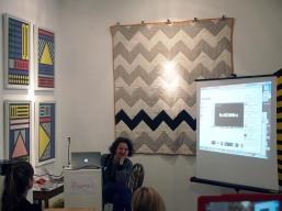 Camille Walala presents at The Geometrics Symposium